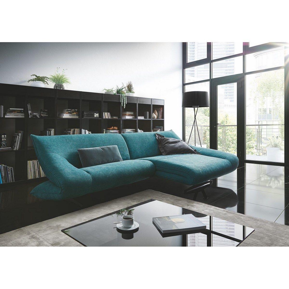 Canapé angle design HARTEROS avec sa chaise longue