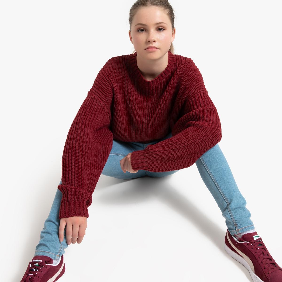 Camisola curta modelo loose, 10-18 anos