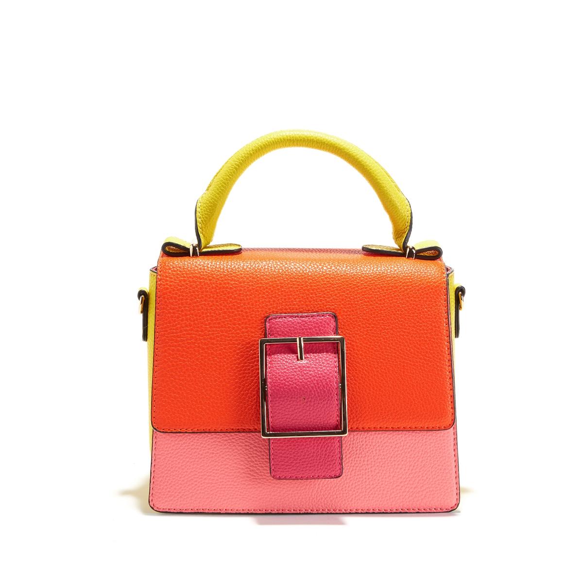Сумка-портфель разноцветная
