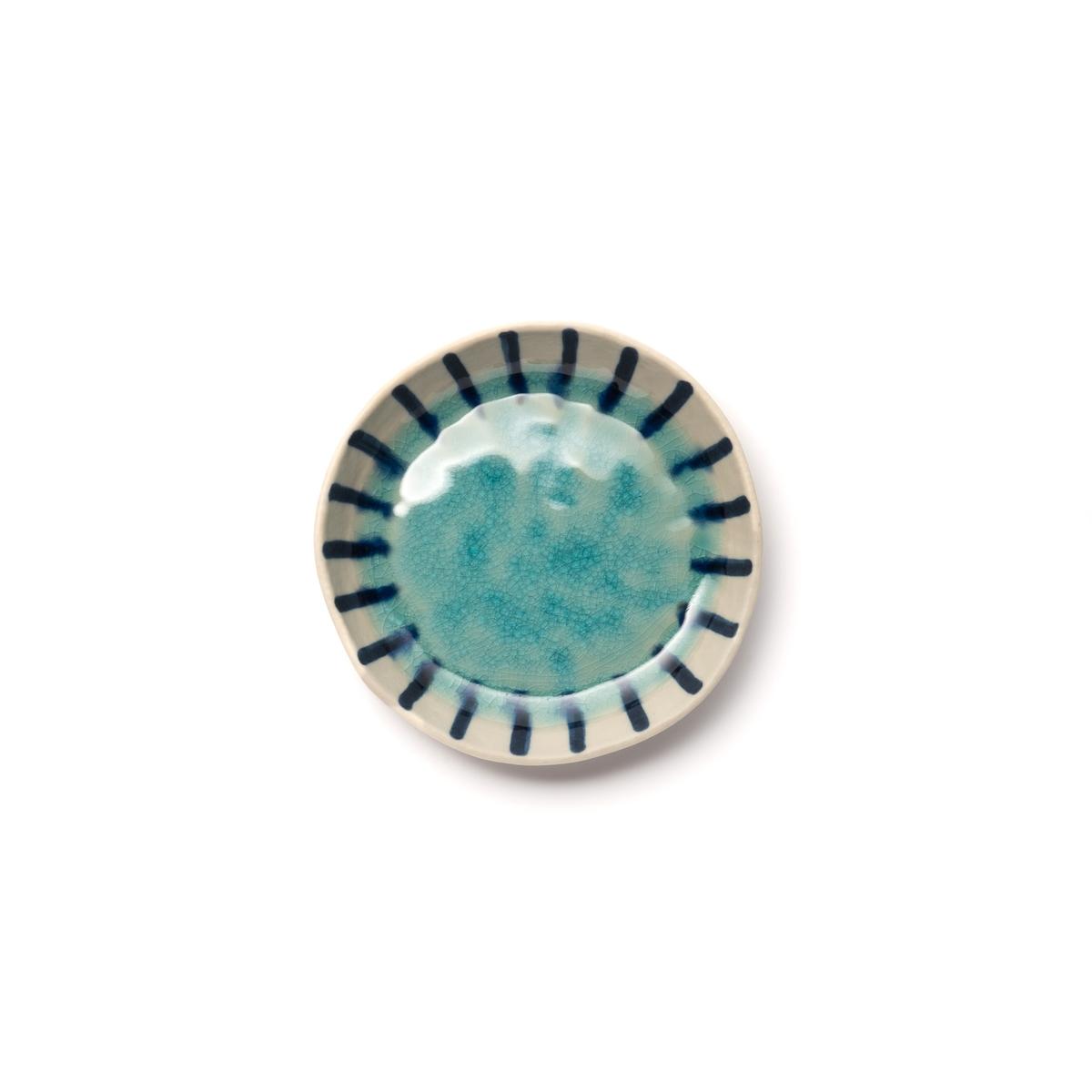 Пиала La Redoute Из керамики покрытой глазурью Asato единый размер синий