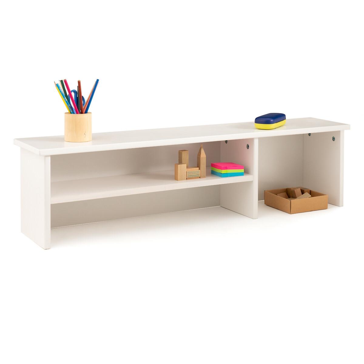 Полка LaRedoute Для письменного стола из массива сосны Gaby единый размер белый