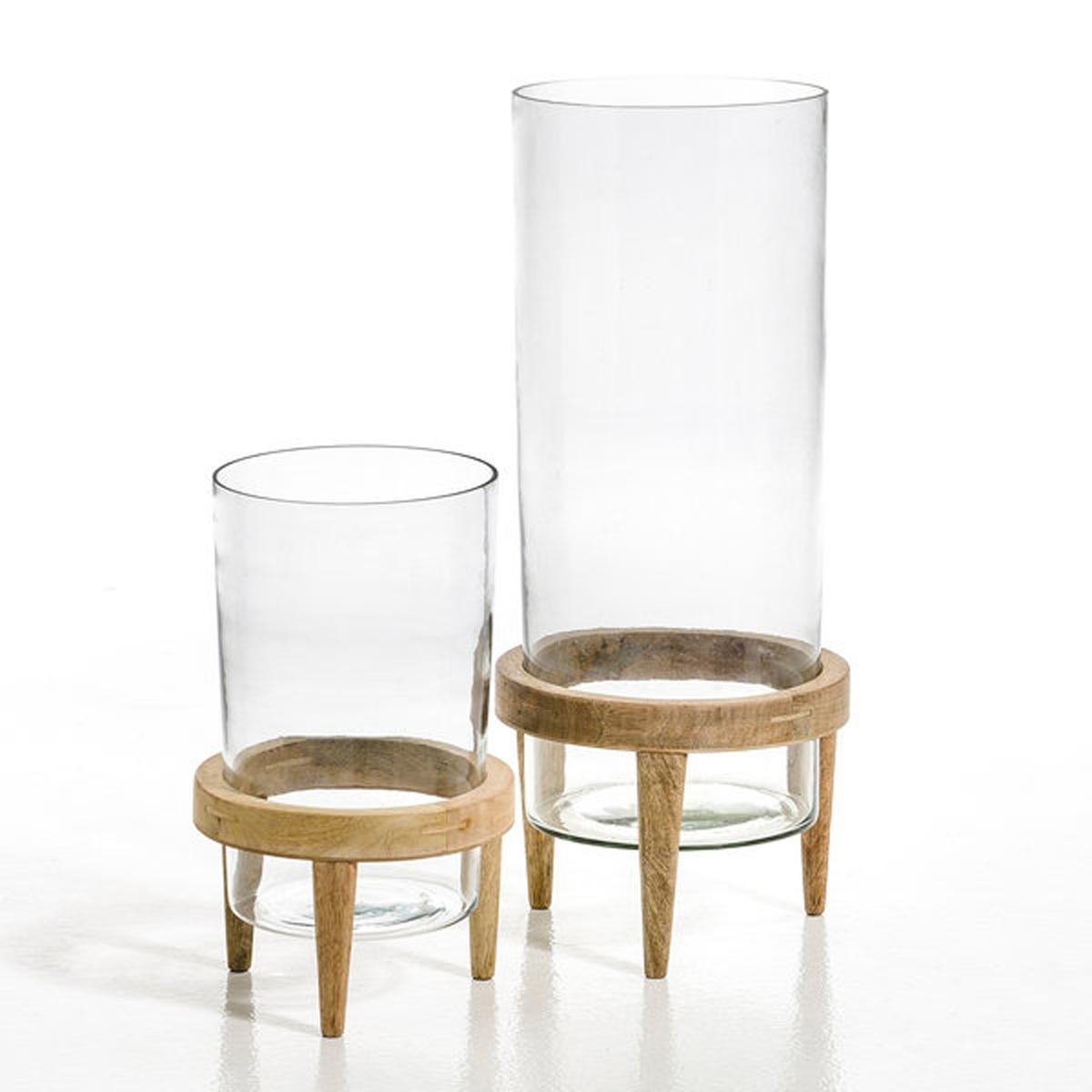 Террариум Bocage из стекла и мангового дерева, диаметр 20 см lancome bocage дезодорант спрей bocage дезодорант спрей