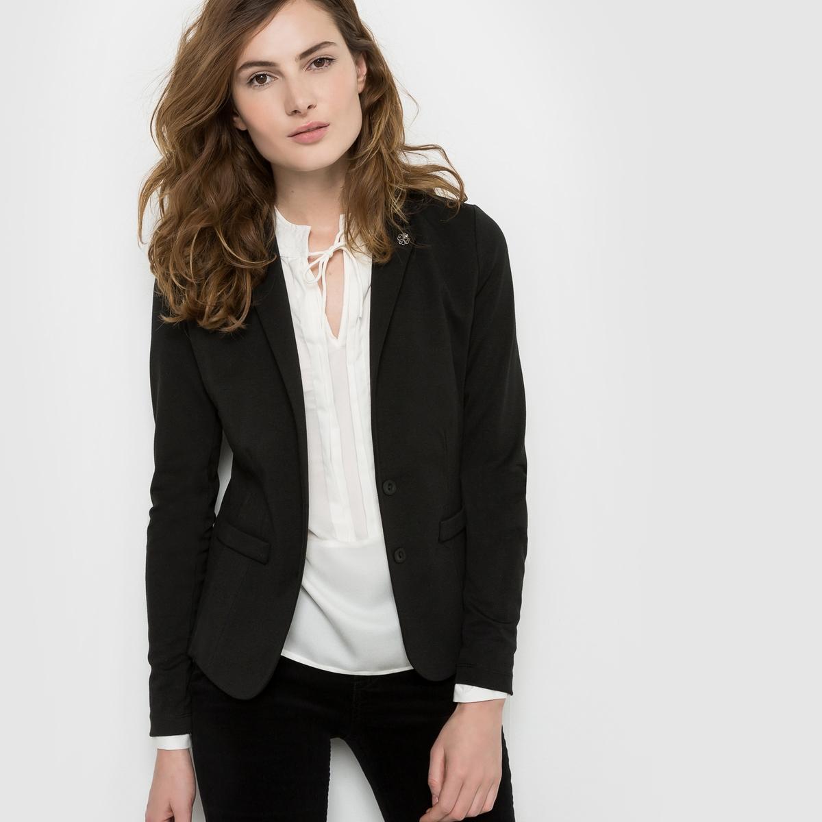 Пиджак из плотного мольтона