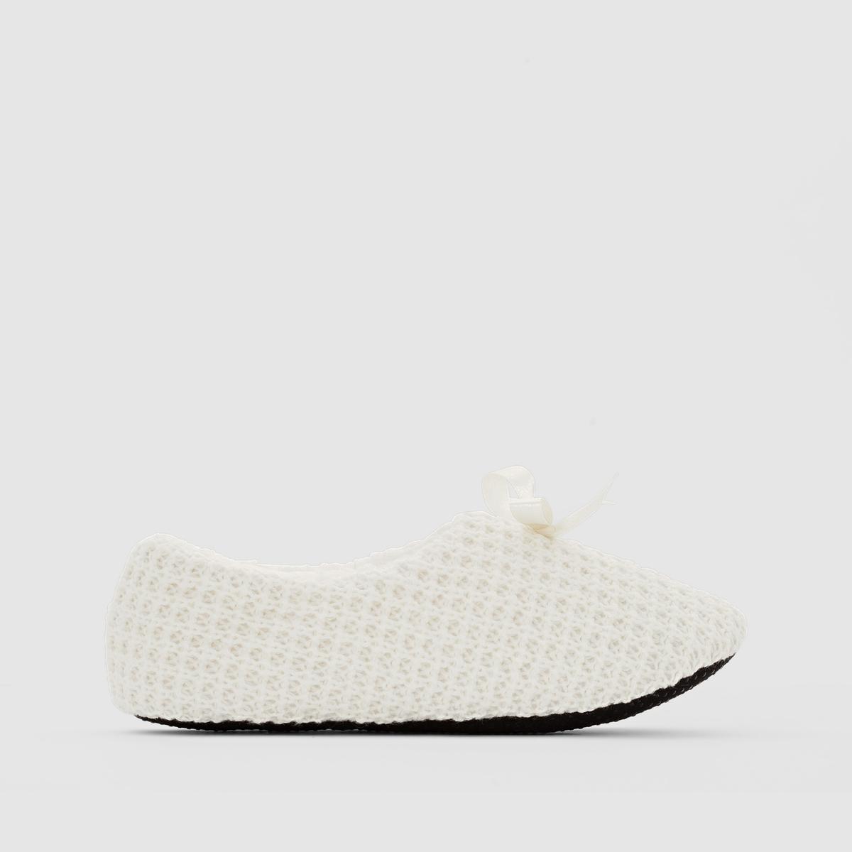 Туфли мягкие из трикотажа от La Redoute