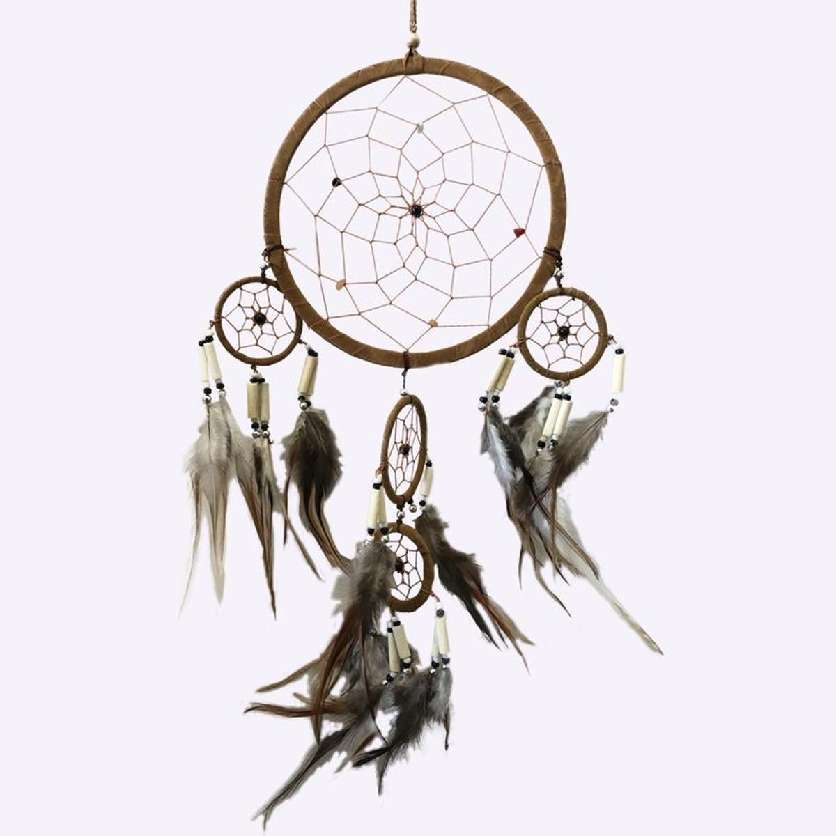 Attrape rêves Boho Diamètre de 16 cm