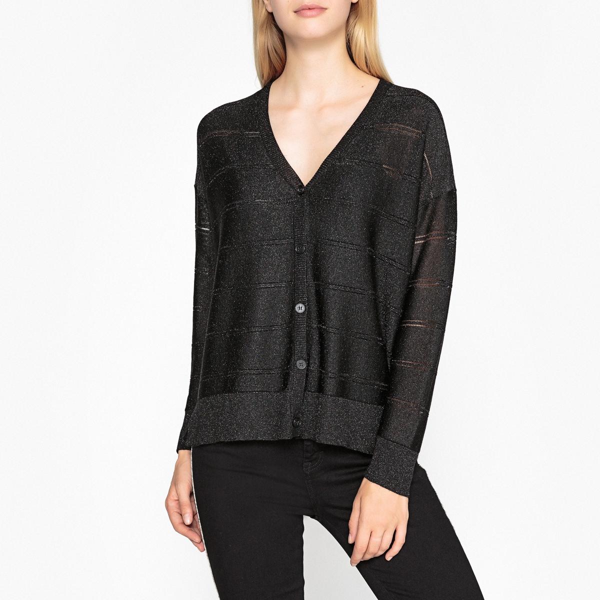 Кардиган с V-образным вырезом ALINE модные мужские o образным вырезом кабины print pullover t shirts