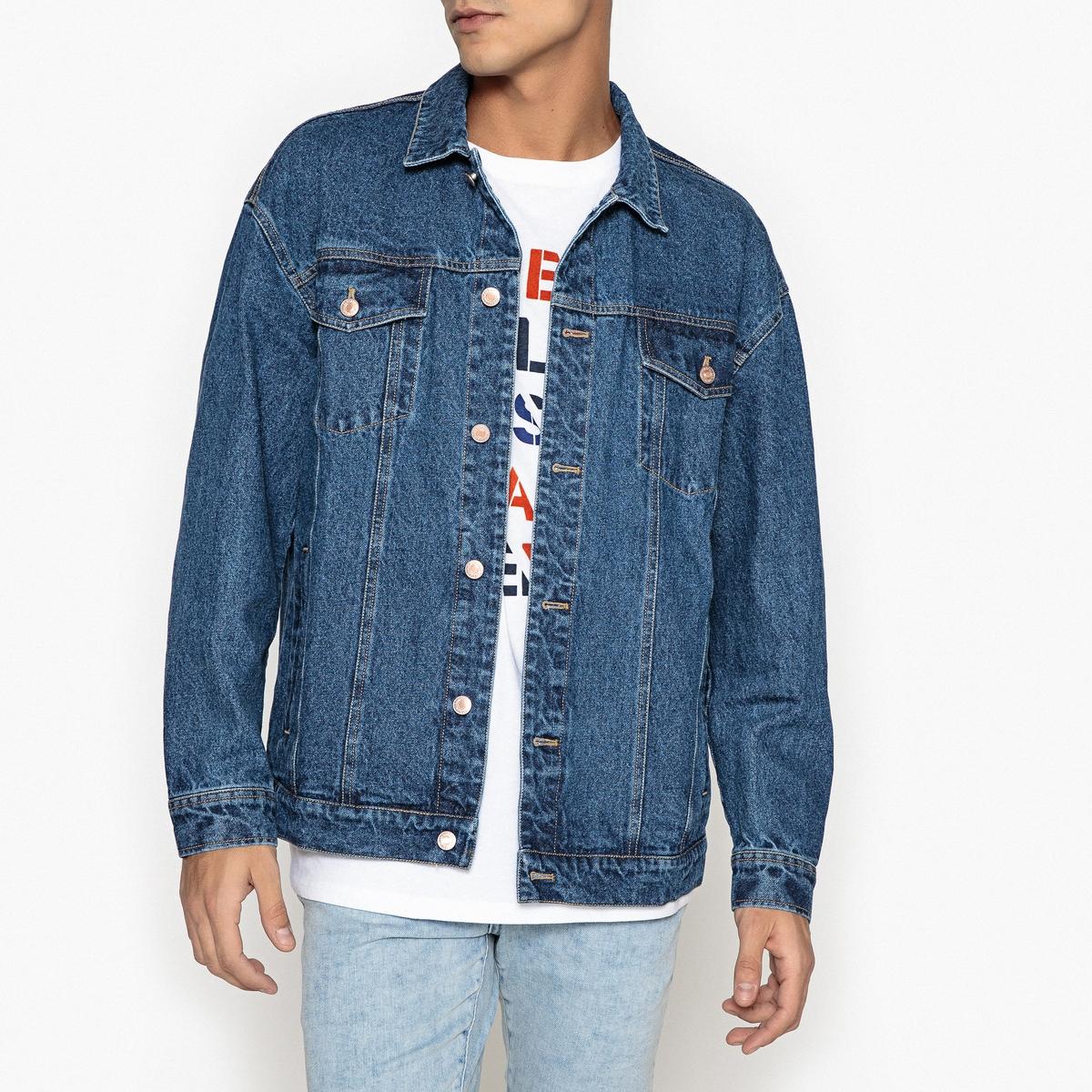 Жакет оверсайз из джинсовой ткани от La Redoute
