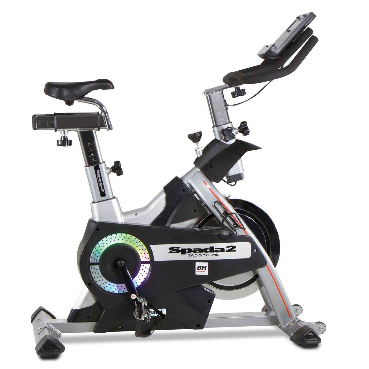 BH Fitness Vélo de biking roue de inertie de 20kg Pédales mixtes - I SPADA II H9355I