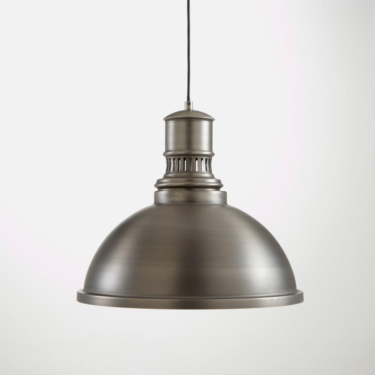 Светильник в индустриальном стиле из металла, LiziaСветильник в индустриальном стиле из металла, Lizia. Его элегантный дизайн будет хорошо смотреться как в современном, так и в винтажном интерьере Описание светильника , Lizia  :Патрон E27 для лампочки макс 60W (не входит в комплект)  .Этот светильник совместим с лампочками    энергетического класса   : A, B,C,D ,EХарактеристики светильника , Lizia  :Метал с эпоксидным покрытием бледно-зеленого цвета или метал с состаренным эффектом .Найдите коллекцию светильников на сайте laredoute.ruРазмер светильника , Lizia  :Диаметр 40 x Выс34 см<br><br>Цвет: белый,бледно-зеленый,серый металл<br>Размер: единый размер