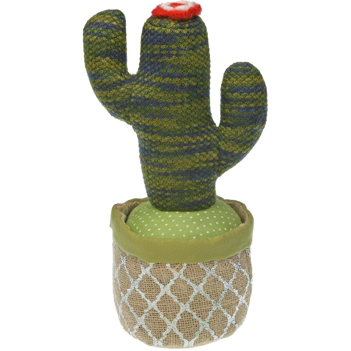Cale-porte en tissu cactus Modèle 2