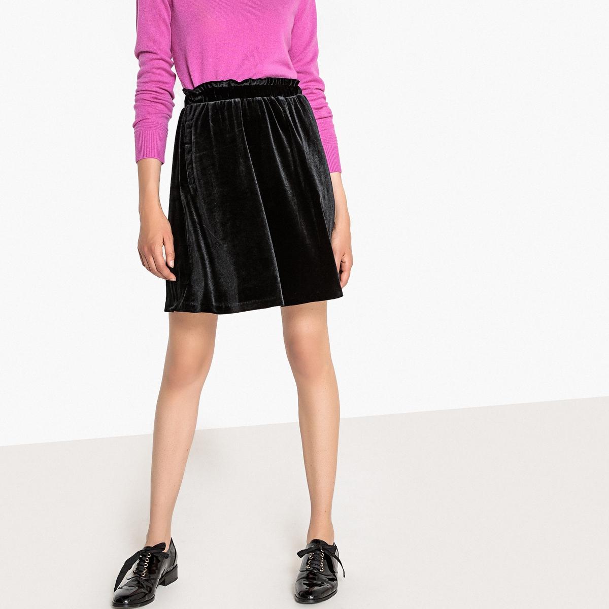Falda corta de pana