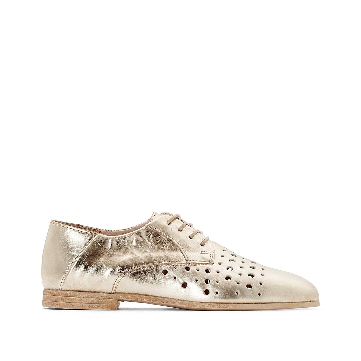 Ботинки-дерби кожаные на шнуровке, Elinor ботинки женские зимние на шнуровке без каблука купить