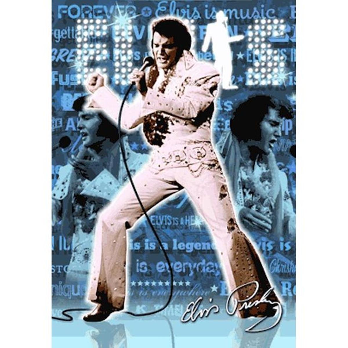 Poster 3D Elvis Presley