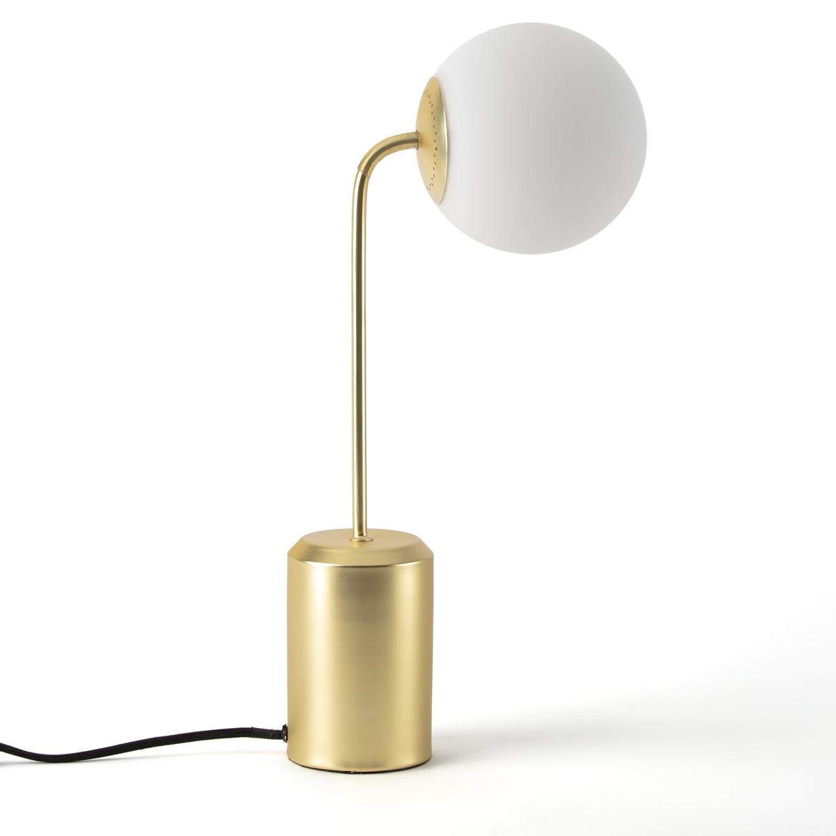 Лампа настольная из опалового стекла, MORICIOХарактеристики лампы Moricio :Колпак из обработанного стекла (опаловое стекло).Металл с блестящим или матовым покрытием. Патрон для лампы G9 18W макс., продается отдельно. Кабель с тканевой оболочкой. Совместима с лампами класса энергопотребления C.Всю коллекцию Moricio вы можете найти на сайте laredoute.ru .Размеры лампы Moricio :Общие размеры Ширина : 22 смВысота : 40,5 смГлубина : 15 смРазмеры и вес коробки :1 коробка26 x 20 x 46 см2 кг<br><br>Цвет: белый