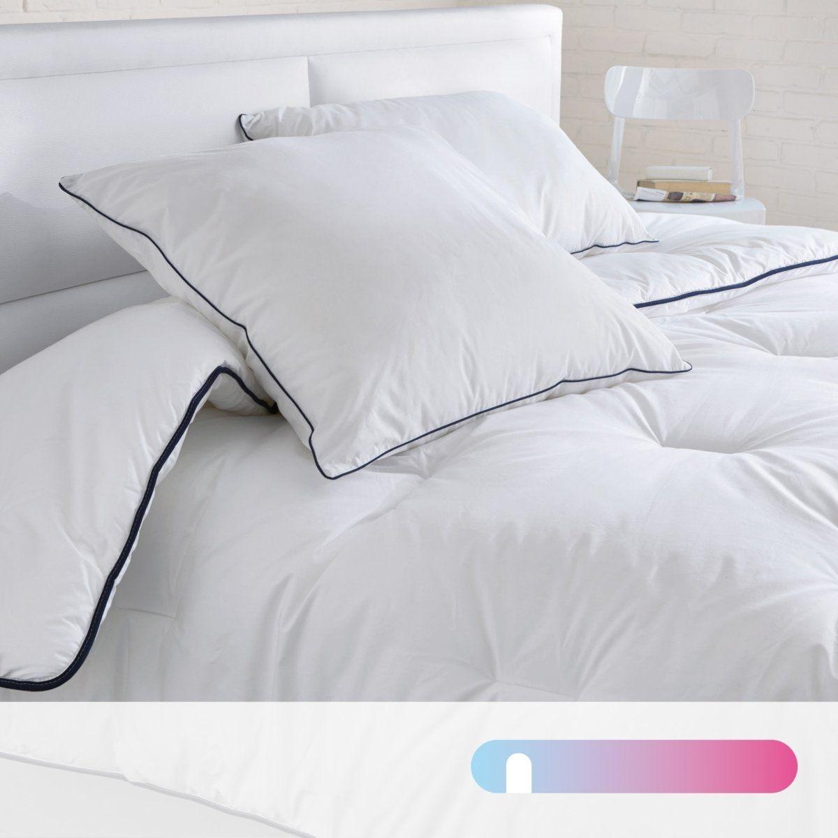Couette polyester 200g/m2, traitée anti acariens