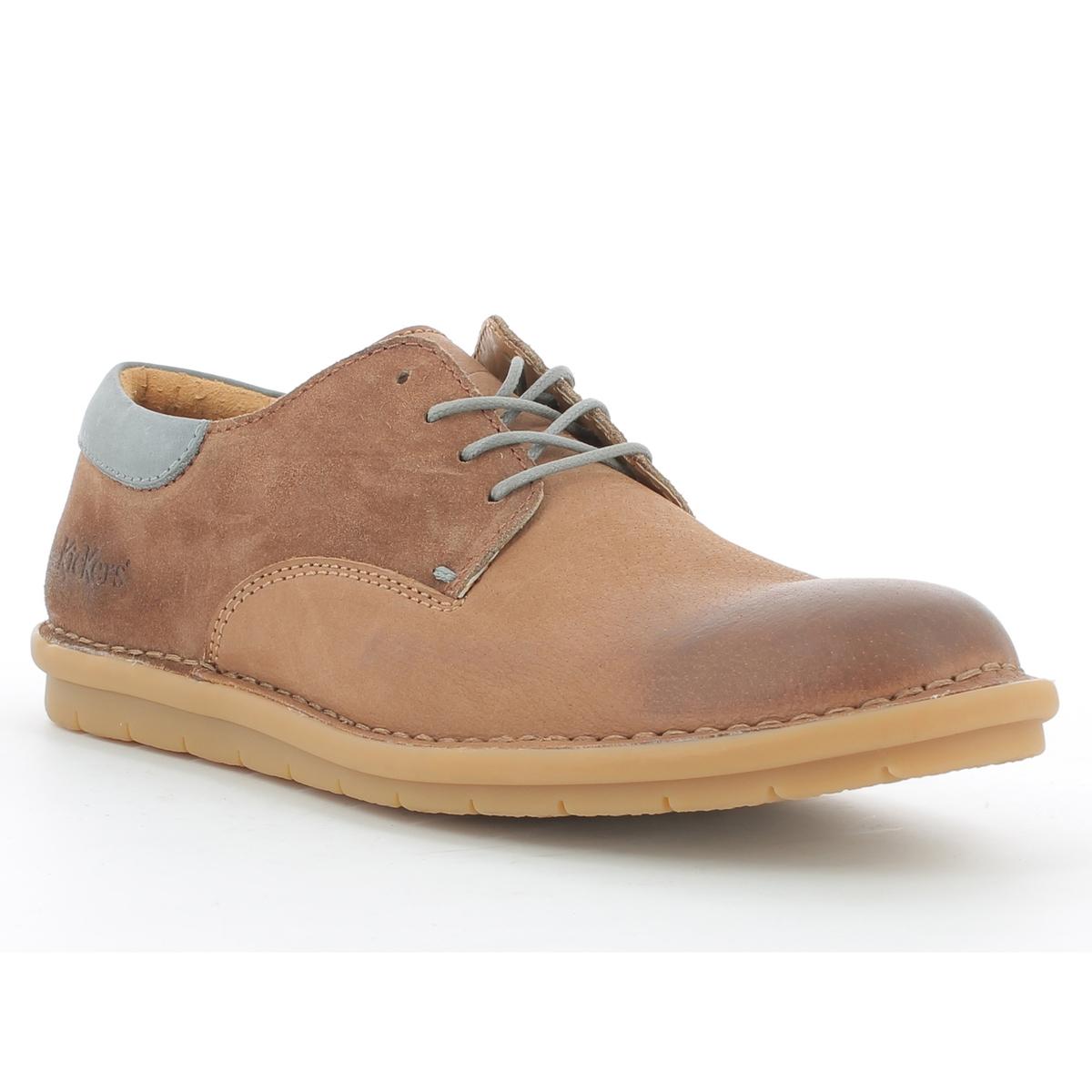 Ботинки-дерби кожаные на шнуровке Vildiur ботинки женские зимние на шнуровке без каблука купить