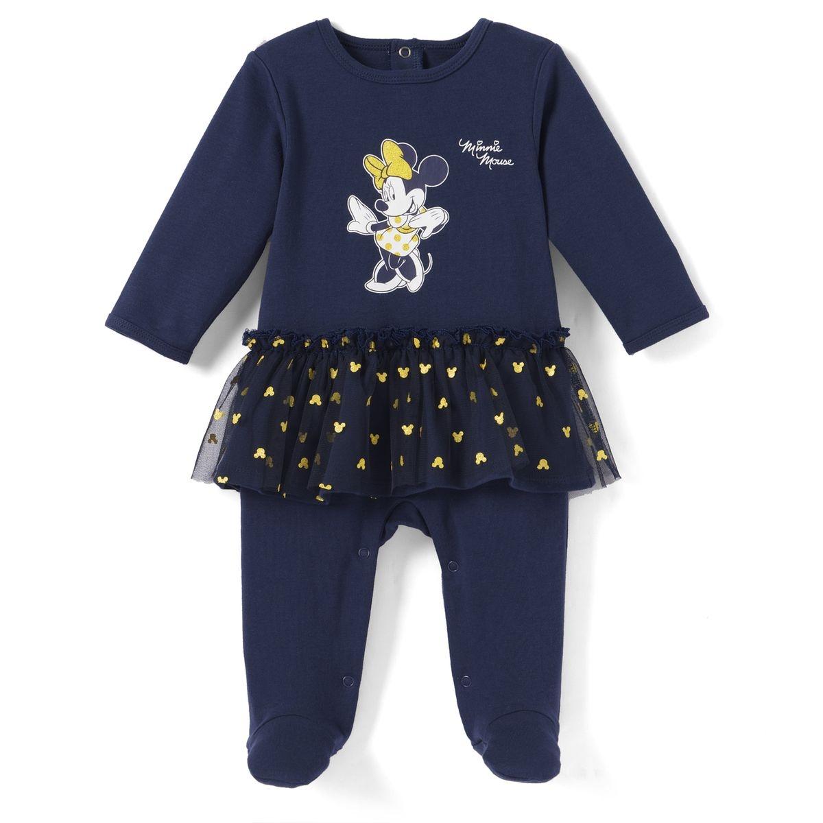 Pyjama 1 pièce, imprimé Minnie Mouse, volants