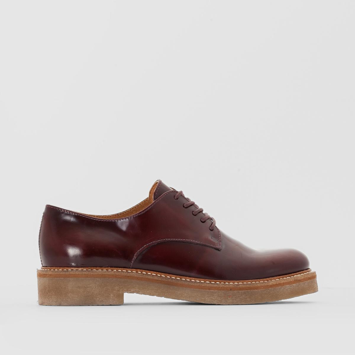 Ботинки-дерби кожаные Oxford ботинки дерби под кожу питона