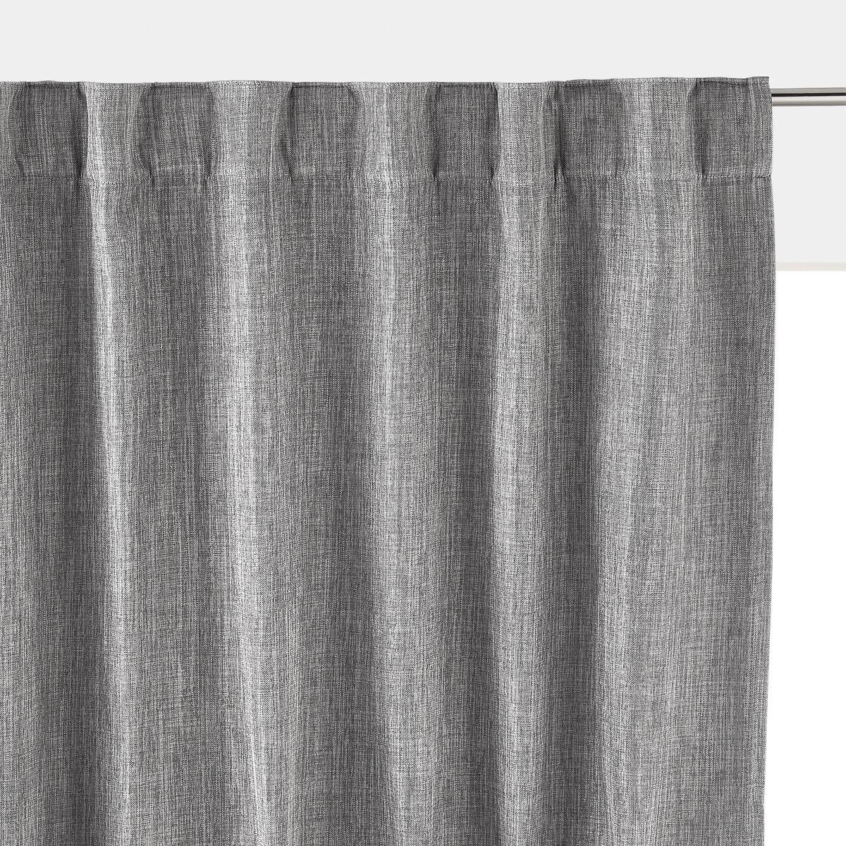 Занавеска LaRedoute Затемняющая термическая Exurie 180 x 140 см серый