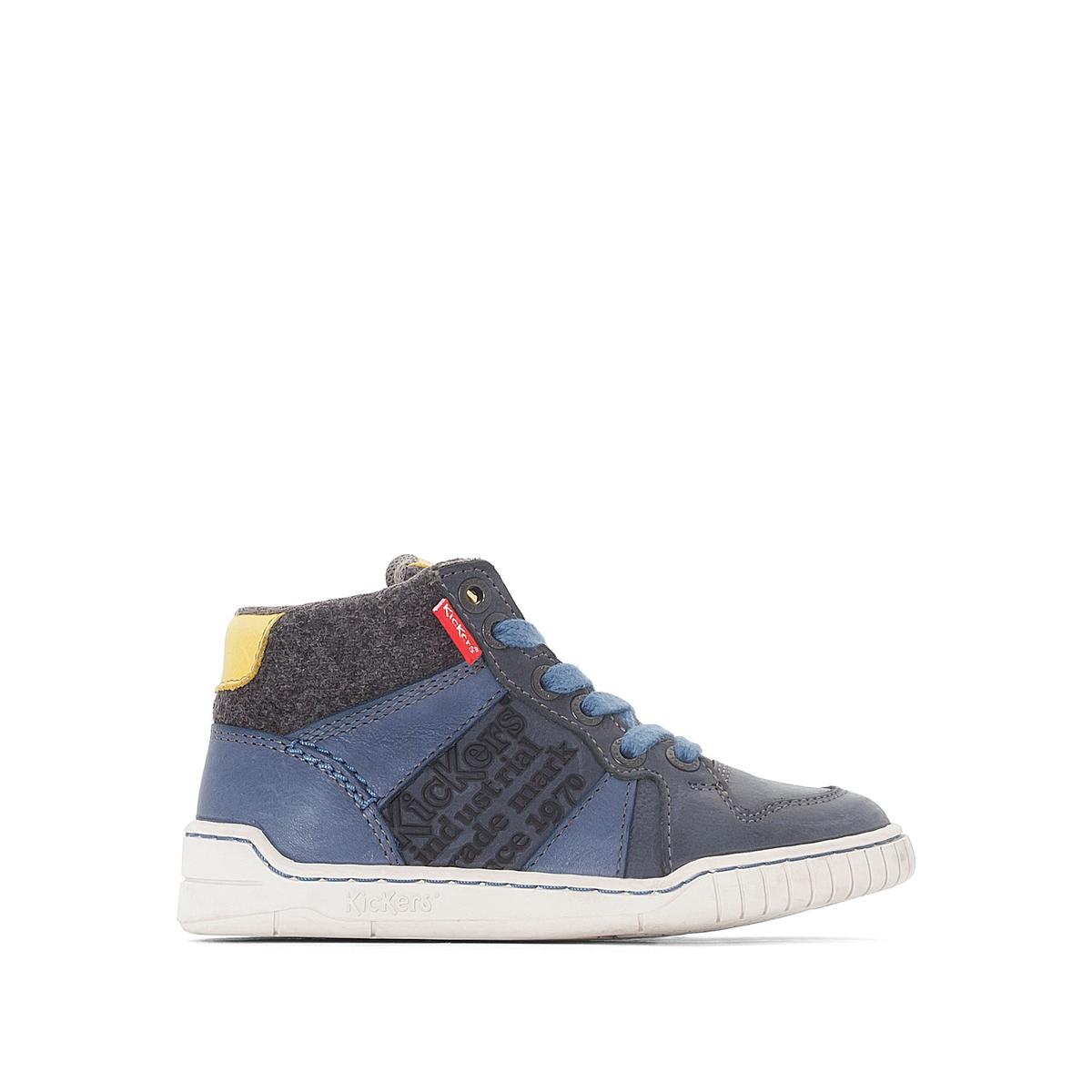 Кеды высокие WAZABIОписание:Детали  •  Кеды высокие •  Спортивный стиль •  Плоский каблук •  Застежка : на молнию •  Гладкая отделкаСостав и уход  •  Верх 100% кожа •  Подкладка 100% текстиль •  Стелька 100% спилок •  Подошва 100% синтетический материал<br><br>Цвет: каштановый,синий,черный