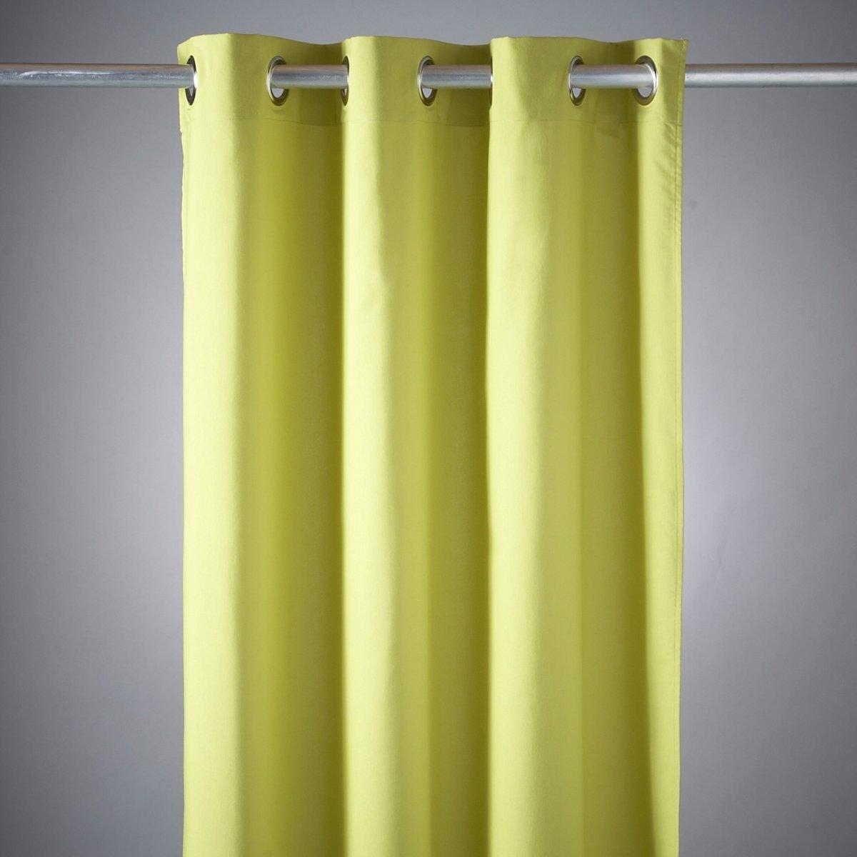 Штора для душа, качество люксКачество VALEUR S?RE за качество материала и тщательную отделку. Ткань, 65% полиэстера, 35% хлопка. Обработка ADVANCED Teflon® (водоотталкивающая обработка, сохраняющая текстуру ткани). Серебристые металлические люверсы. Стирка при 40°.<br><br>Цвет: зеленый анис