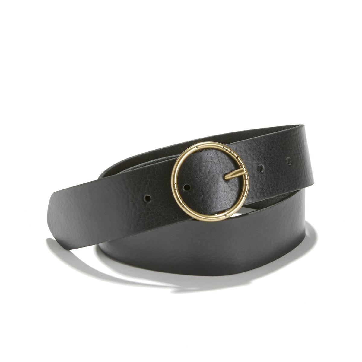 Cinturón de piel Fashion Circle