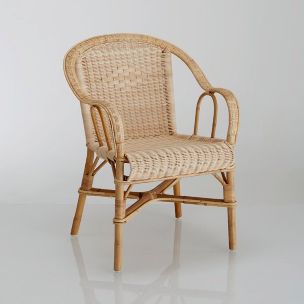 Кресло La Redoute Садовое KOK из ротанга Marcel единый размер бежевый