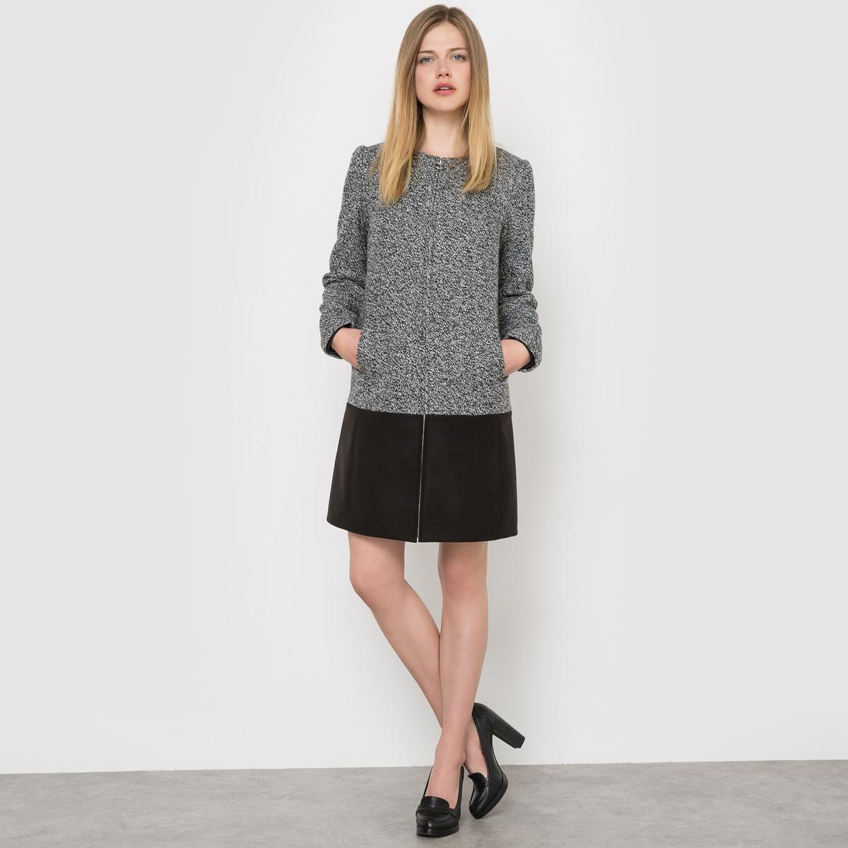 Пальто из двух материалов зонт складной eleganzza eleganzza el116dmxid64