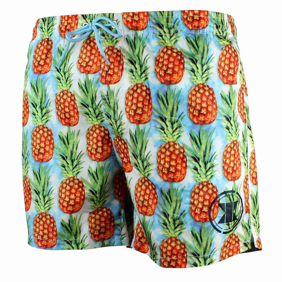 Short De Bain Enfant Pineapple