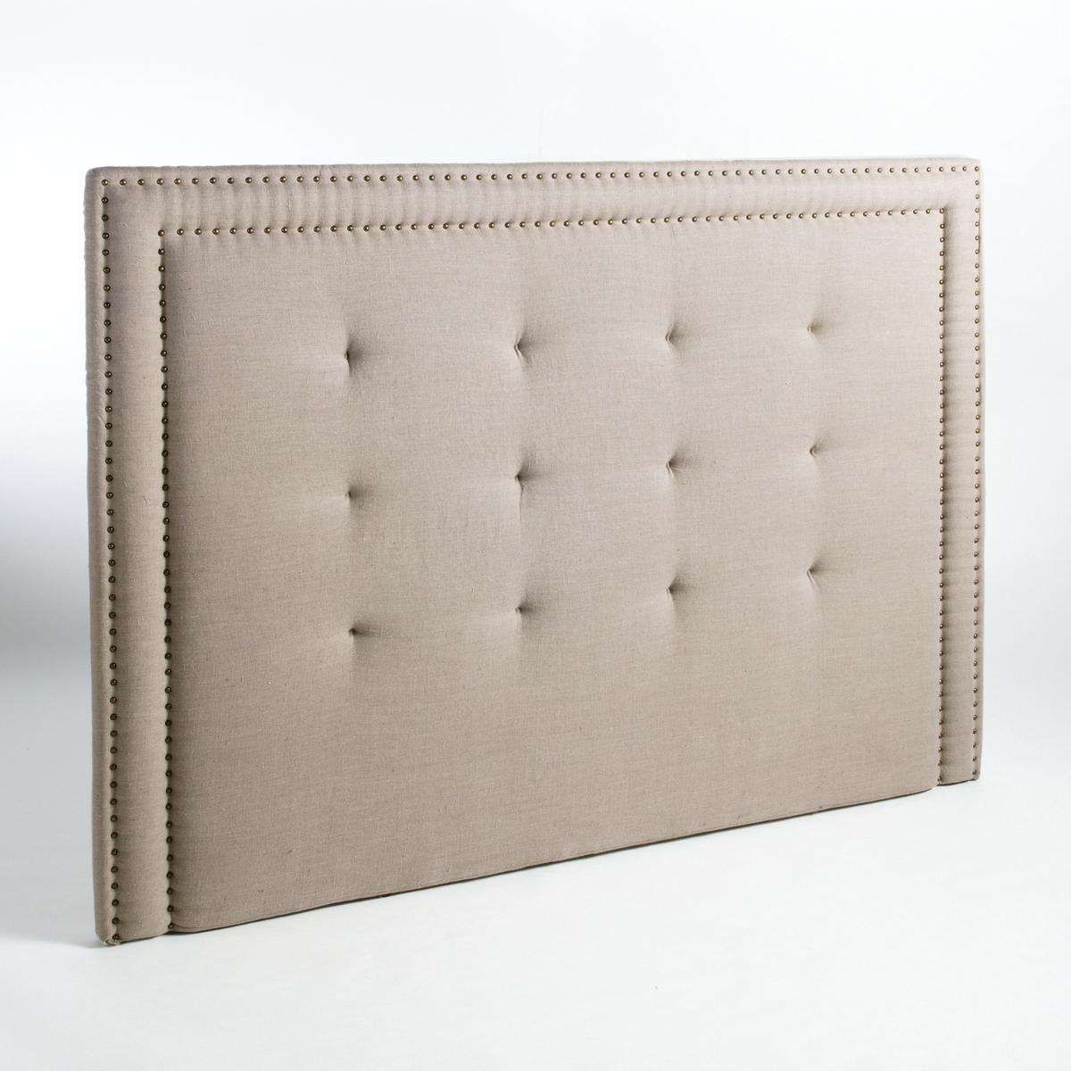 Изголовье кровати В.135 см, Hampstead, покрытие из 100% льна