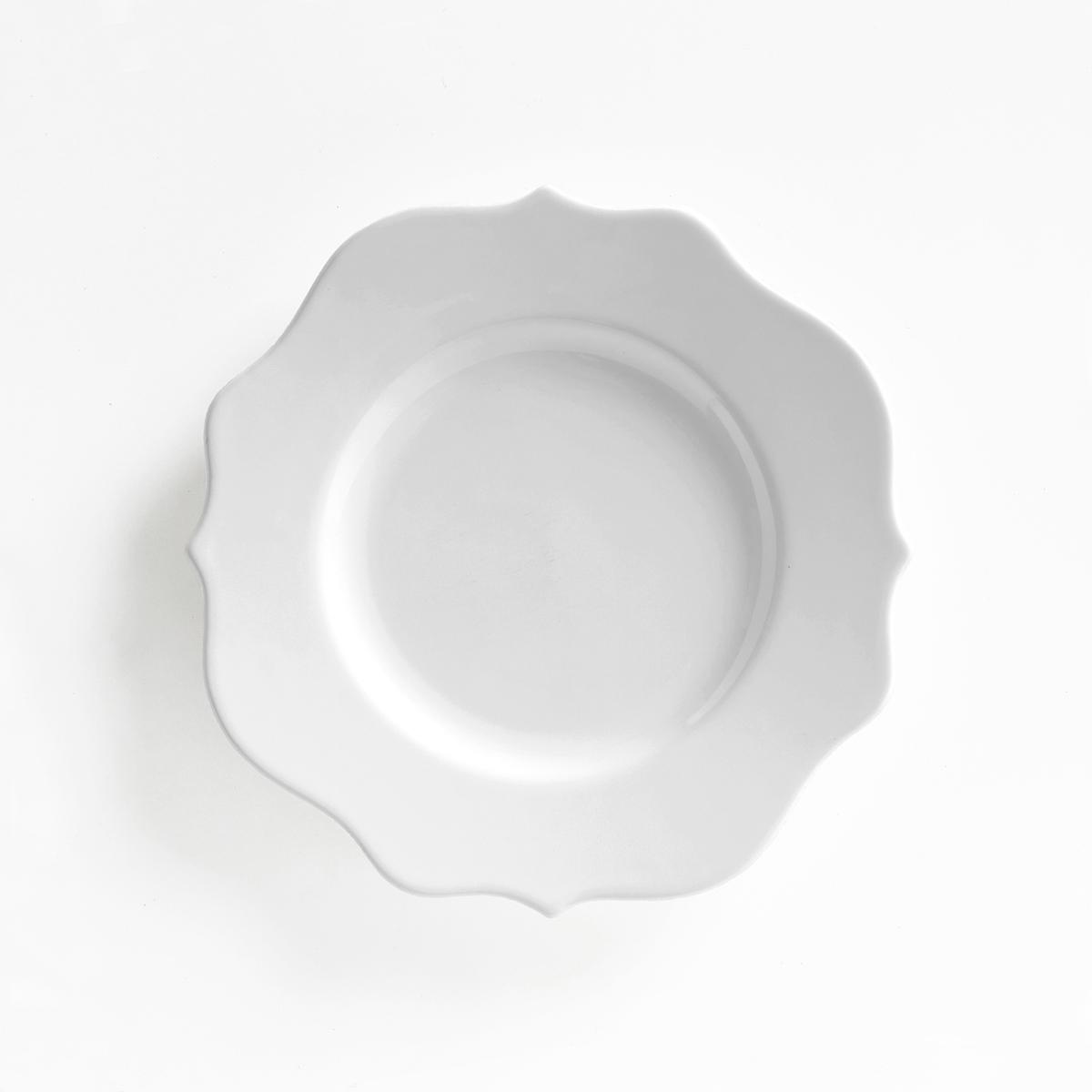 4 десертных тарелки из фаянса ManoirДесертные тарелки из фаянса Manoir, продающиеся в комплекте из 4 штук, будут отличным выбором для изысканного стола Описание 4 тарелок Manoir :Из фаянса.Подходят для микроволновой печи и посудомоечной машины  Размеры тарелок Manoir :?23 см.<br><br>Цвет: белый<br>Размер: единый размер