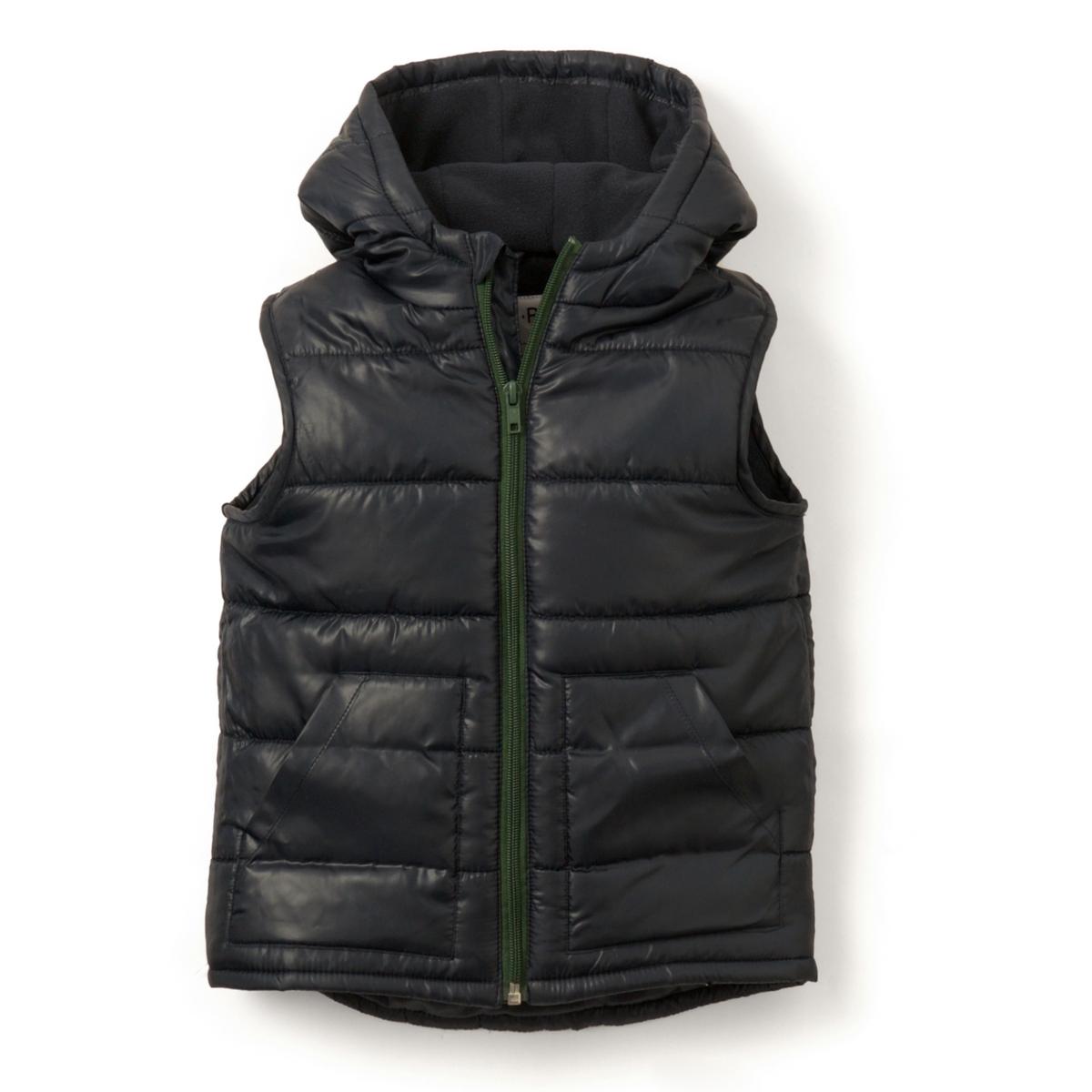 Куртка стеганая без рукавов, 3-12 лет