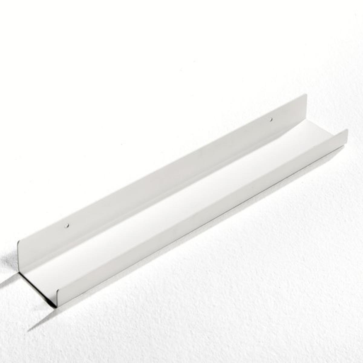Полка La Redoute Настенная металлическая для фотографий Gallery S белый цена