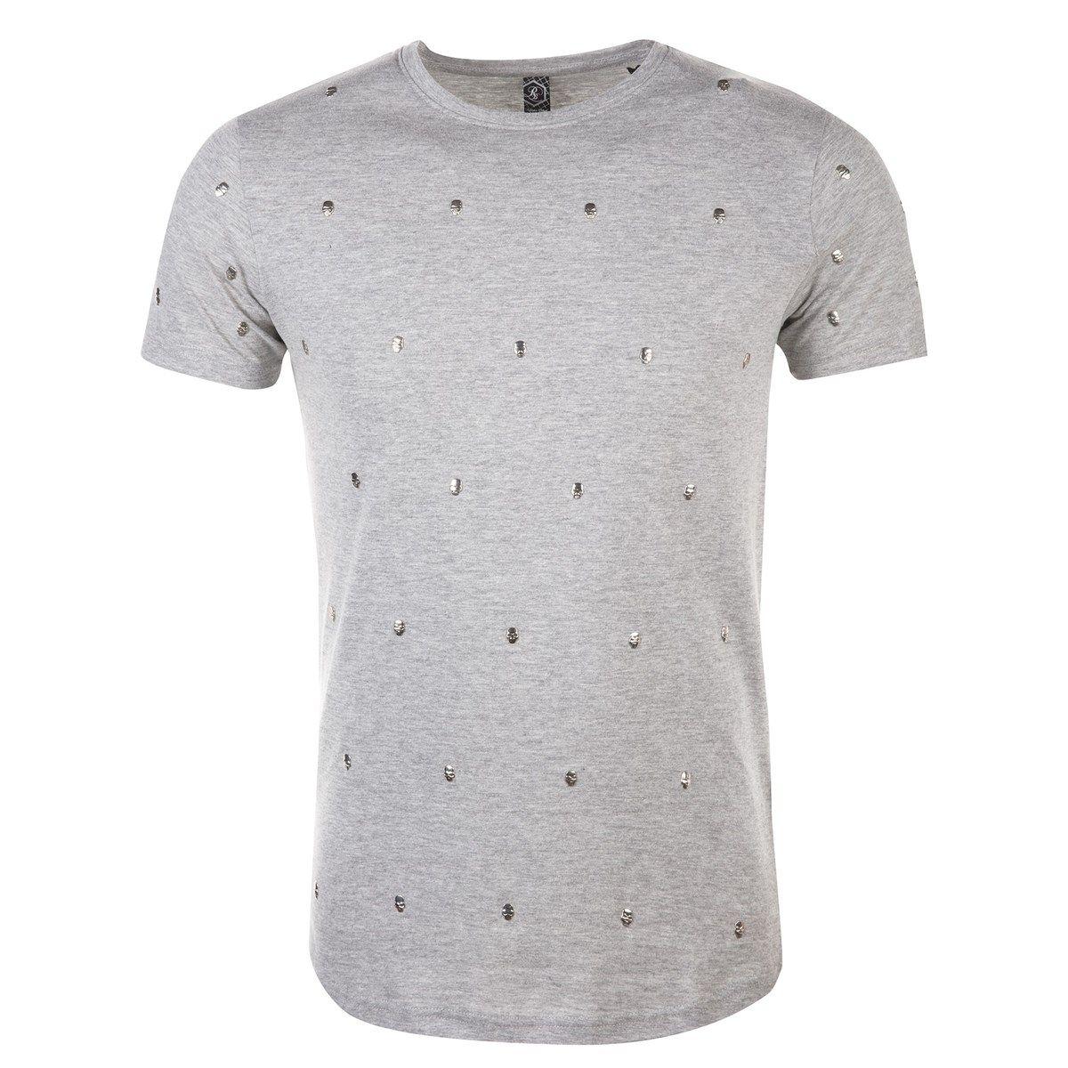 T-shirt en coton tête de mort