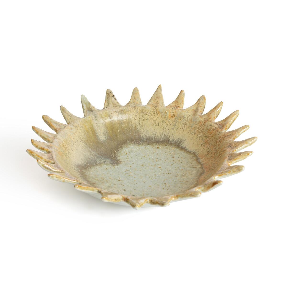 Чаша La Redoute Из керамики 255 см Solis единый размер бежевый миски la redoute из эмалированной керамики attale единый размер каштановый