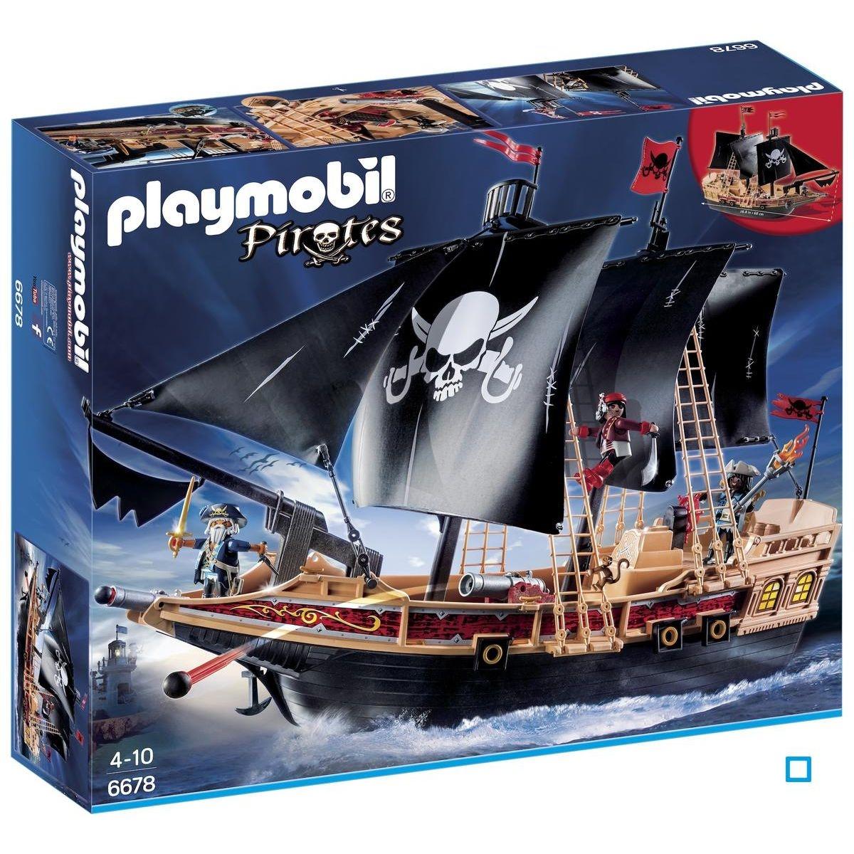Bateau pirates des ténèbres - PLA6678