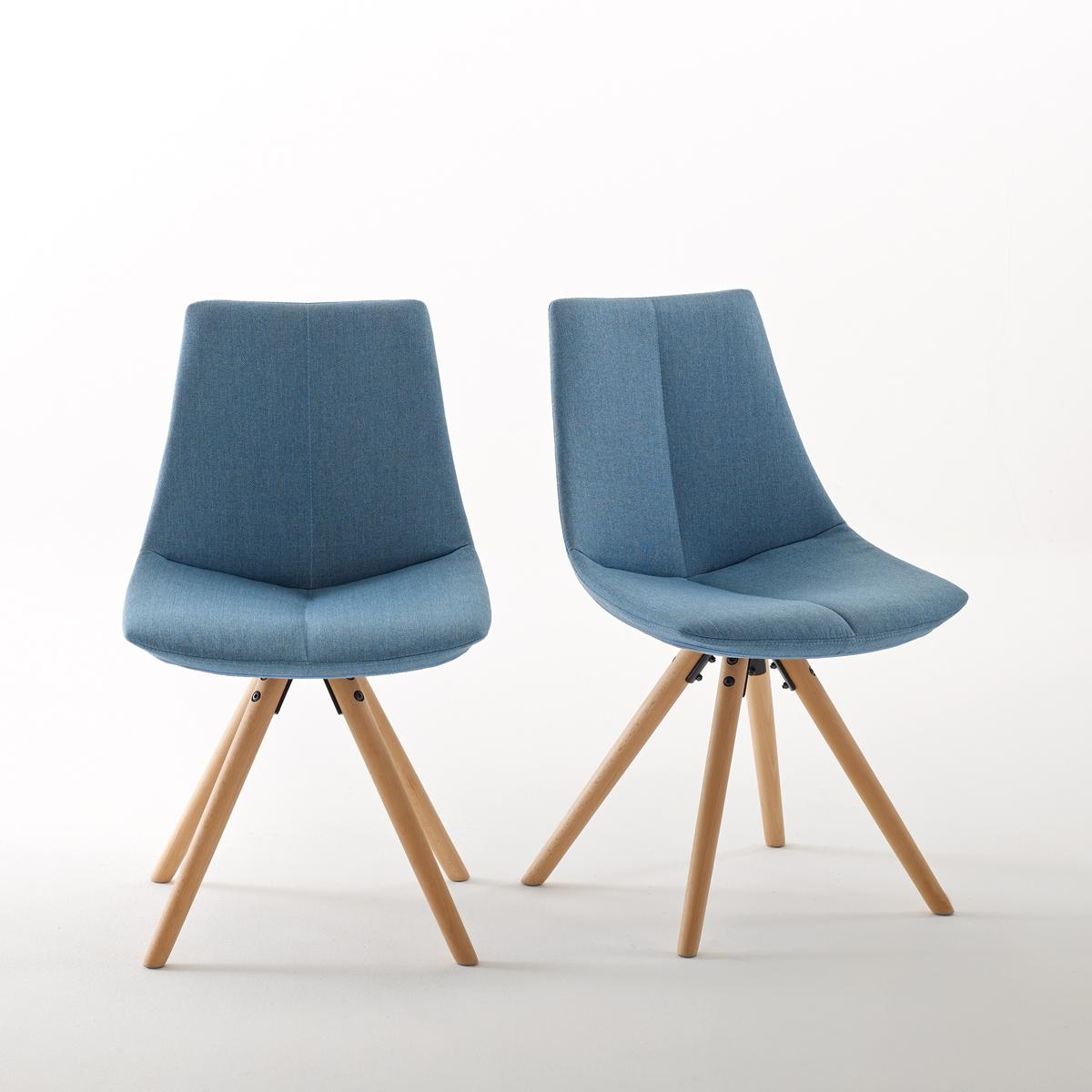 2 стула мягких ASTING2 мягких стула Asting. Очень стильный дизайн с графическими перспективами стульев Asting, которые обладают неоспоримым комфортом.Характеристики мягких стульев Asting :Тканевое покрытие, 100% полиэстер.Сиденье из полипропилена с наполнителем из 100% пенополиуретана плотностью 24 кг/м?.Ножки из массива бука с покрытием нитроцеллюлозным лаком.Для оптимального качества и устойчивости рекомендуется надежно затянуть болты. Откройте для себя табуреты и другие модели коллекции Asting на сайте laredoute.ru.Размер мягких стульев Asting :Общие :Длина :  48 см.Высота : 81,5 смГлубина :  54 смСиденье : В.45 см.Размеры и вес упаковки:1 коробкаШ 61 x В 50 x Г 51 см14,1 кгДоставка :Мягкие стулья Asting продаются в разобранном виде. Возможна доставка до квартиры по предварительному согласованию !Внимание ! Убедитесь, что дверные, лестничные и лифтовые проемы позволяют осуществить доставку коробки таких габаритов .<br><br>Цвет: желтый горчичный,светло-серый,синий