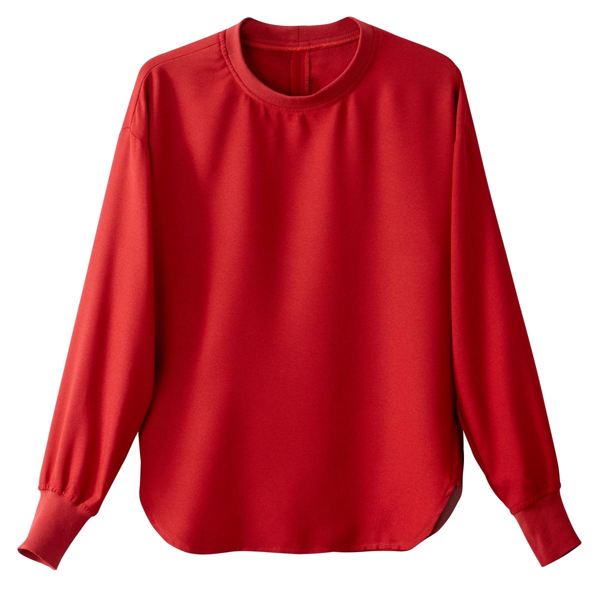 Блузка с рукавами летучая мышьДетали •  Рукава 3/4 •  Круглый вырезСостав и уход •  100% полиэстер  •  Температура стирки 30° на деликатном режиме   •  Сухая чистка и отбеливание запрещены    •  Не использовать барабанную сушку   •  Низкая температура глажки<br><br>Цвет: красный,темно-синий,черный<br>Размер: 34 (FR) - 40 (RUS).48 (FR) - 54 (RUS).44 (FR) - 50 (RUS).50 (FR) - 56 (RUS).44 (FR) - 50 (RUS).40 (FR) - 46 (RUS).38 (FR) - 44 (RUS).36 (FR) - 42 (RUS).48 (FR) - 54 (RUS).42 (FR) - 48 (RUS)