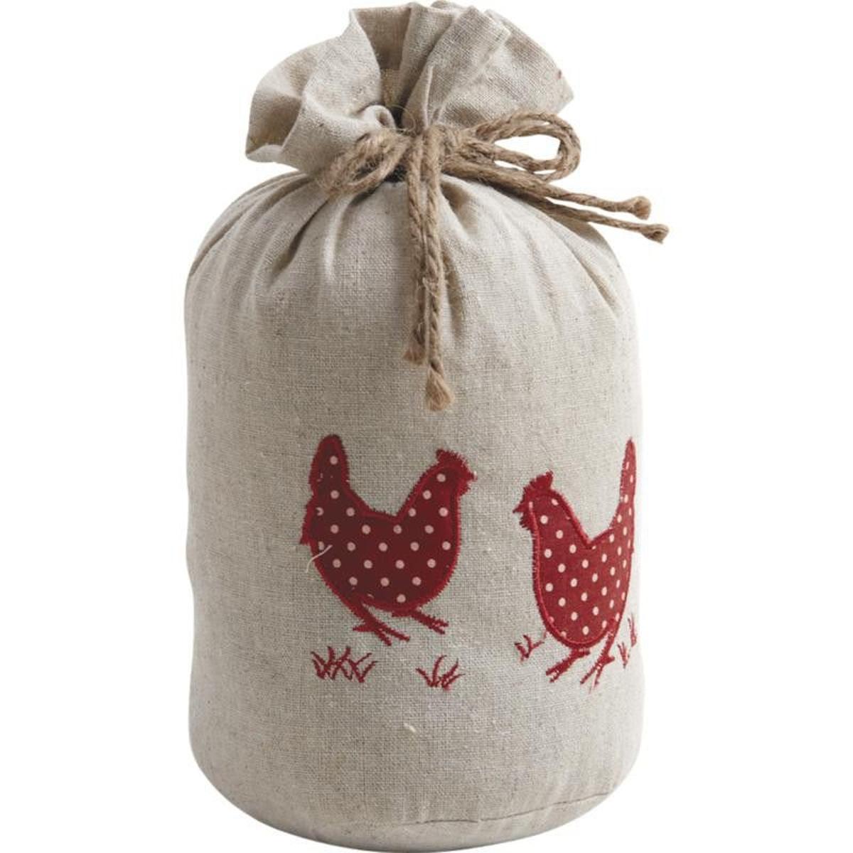Cale-porte poules 1,5kg coton Lin