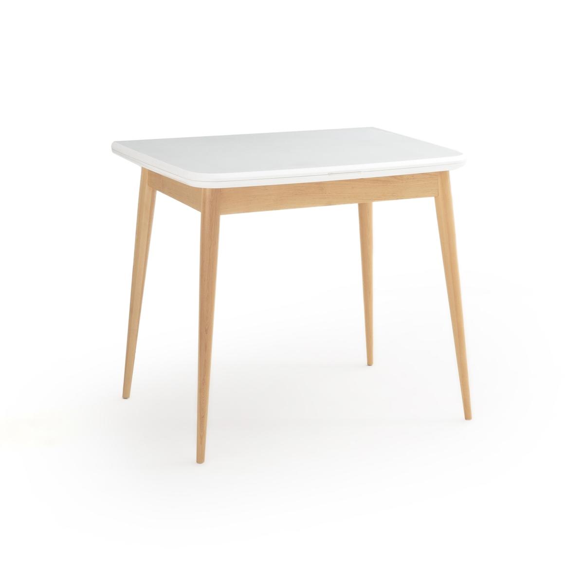 Раздвижной La Redoute Обеденный стол на - человек Jimi 4 персоны белый стол la redoute барный janik регулируемый по высоте 2 персоны белый