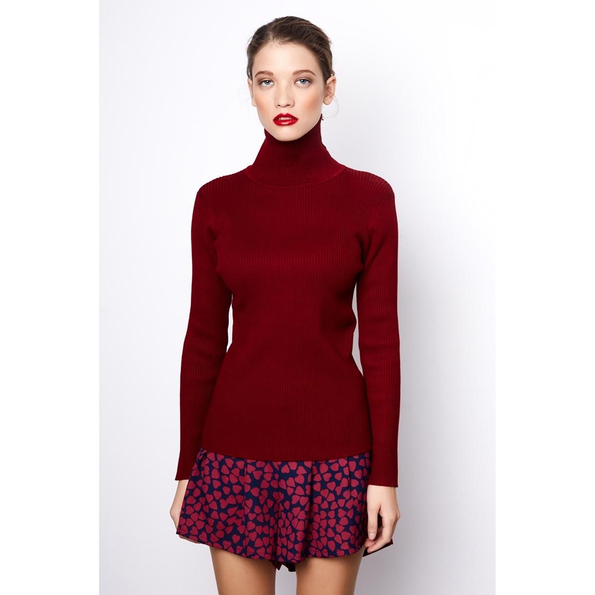 Платье-пуловер короткое расклешенное однотонное с длинными рукавамиОписание:Детали •  Форма : расклешенная •  Укороченная модель •  Длинные рукава    •  Воротник с отворотомСостав и уход •  50% хлопка, 50% полиэстера   •  Следуйте рекомендациям по уходу, указанным на этикетке изделия<br><br>Цвет: бордовый<br>Размер: S