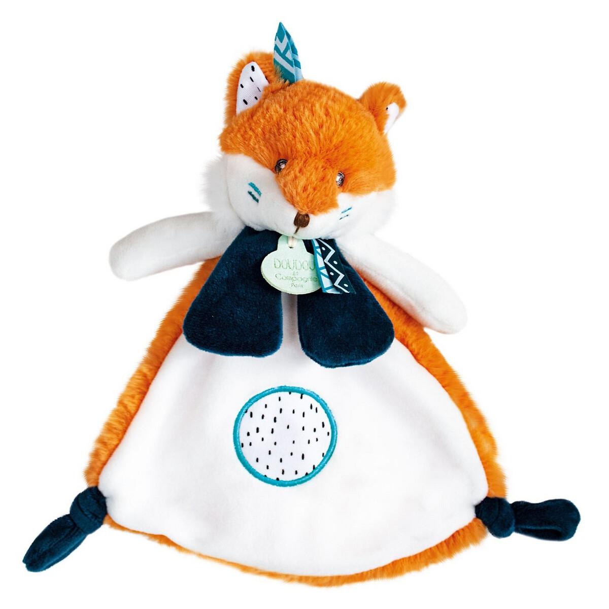 An image of Doudou Et Compagnie Newborn Tiwipi Fox Comforter - 23cm