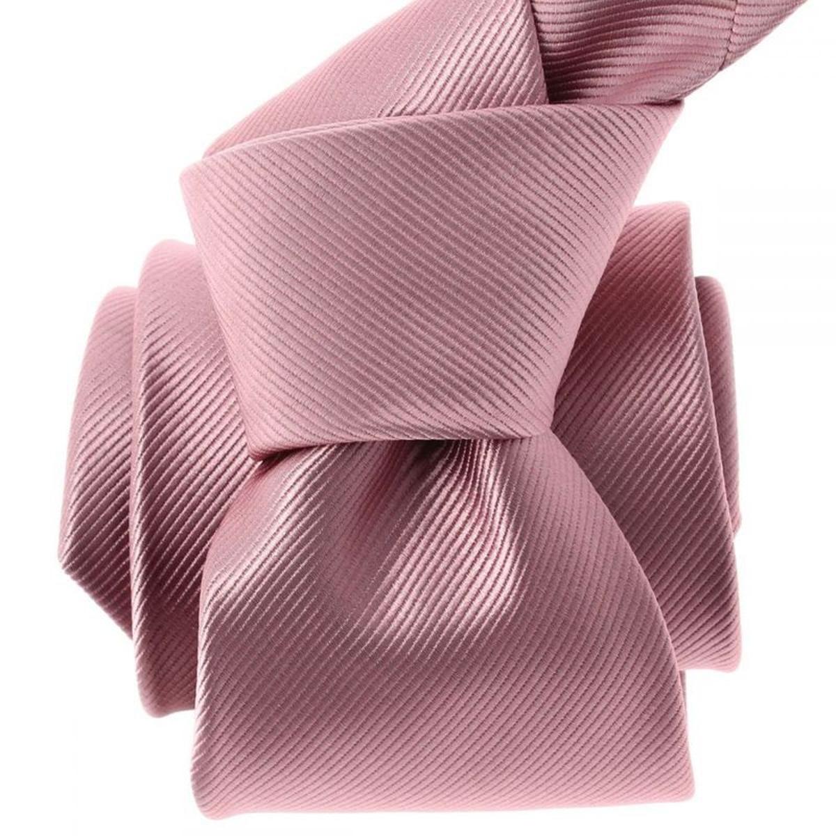 Cravate Deauville. Microfibre Uni