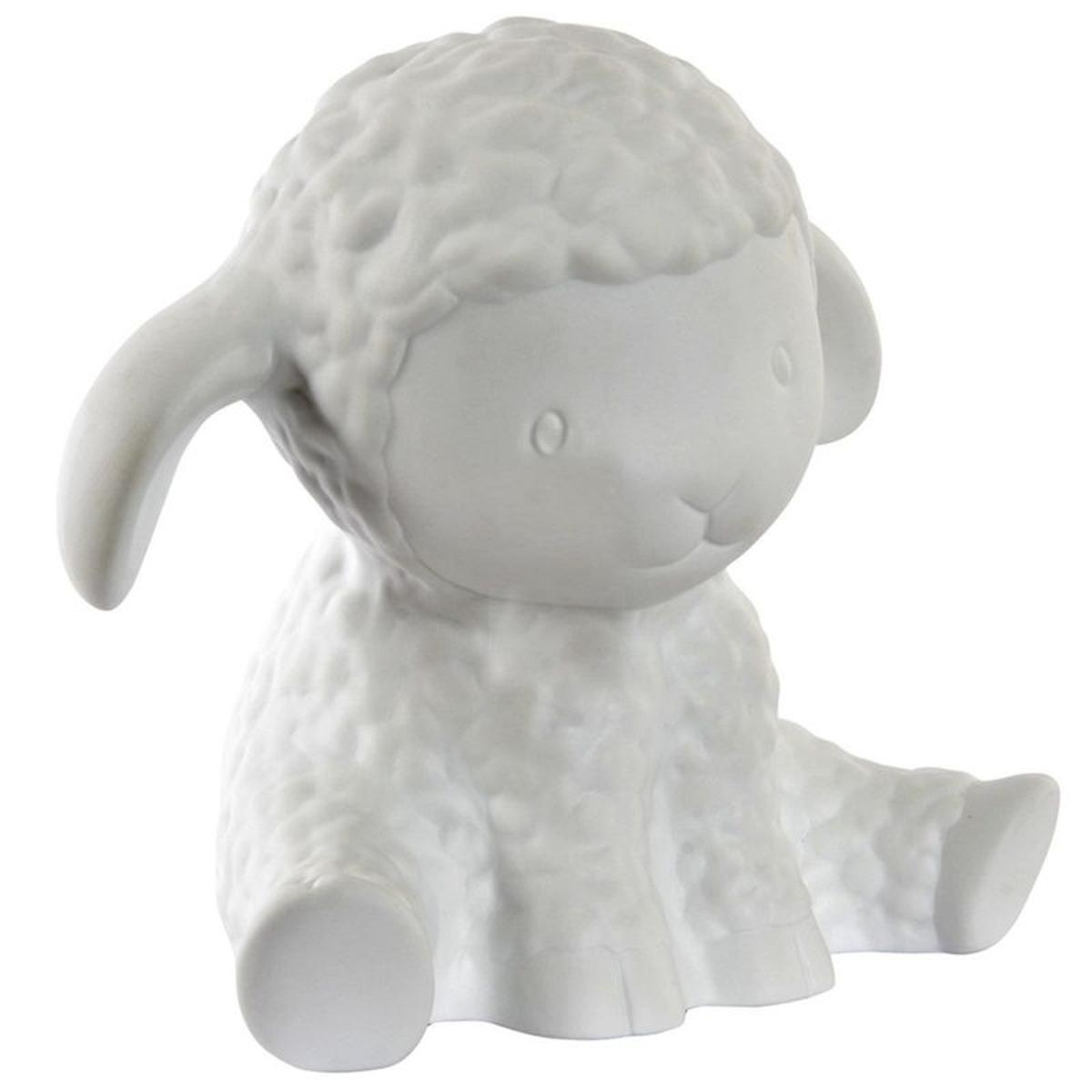 Lampe à poser blanche Mouton