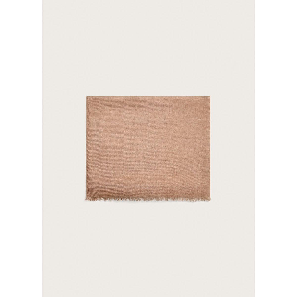 Foulard bicolore dégradé
