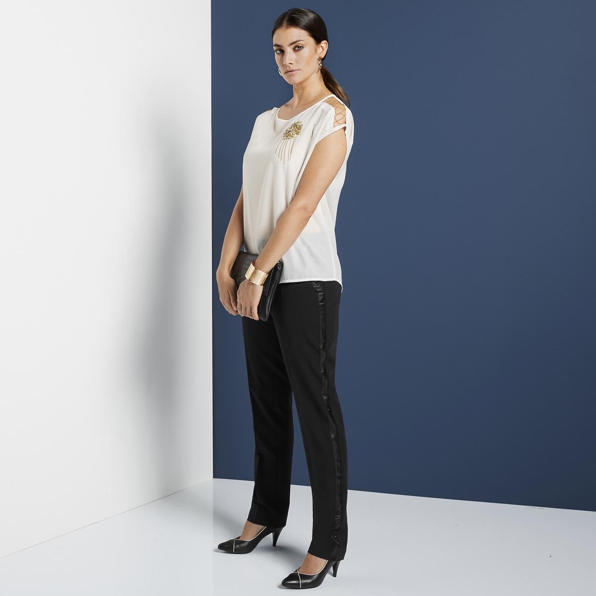 Imagen secundaria de producto de Zapatos de tacón gris, cortes dorados - Anne weyburn