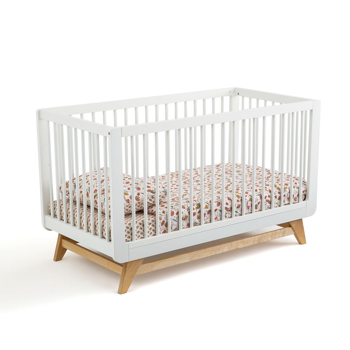 Кровать LaRedoute Детская раздвижная WILLOX 70 x 140 см белый