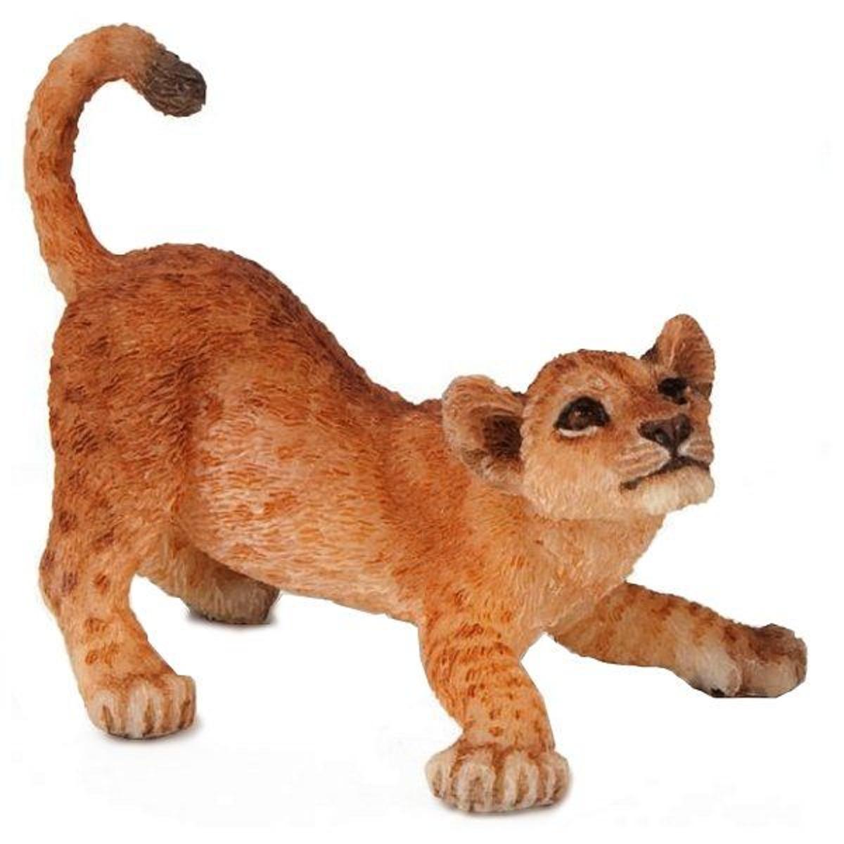 Figurine Lion : Lionceau jouant