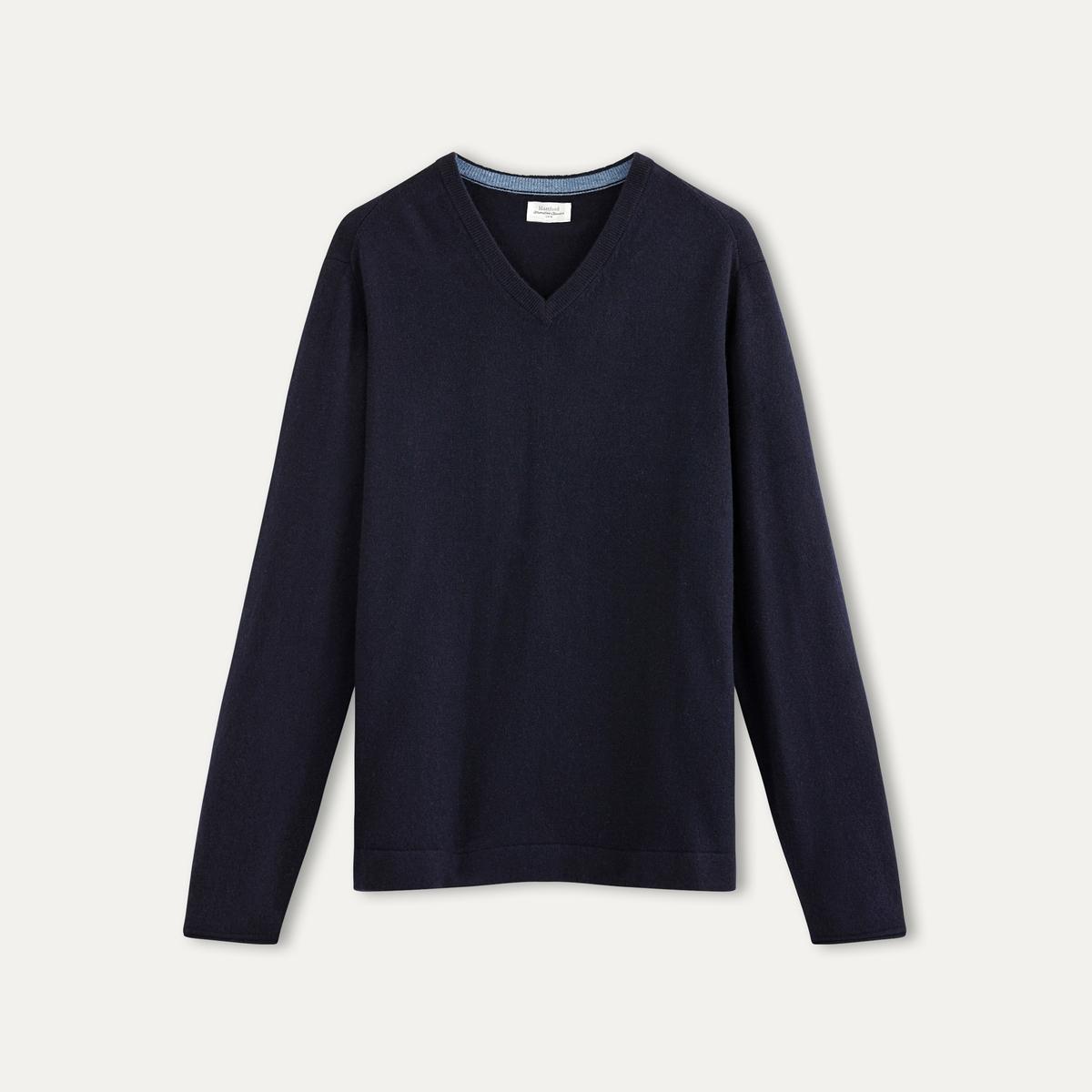 Пуловер из шерсти и кашемира от La Redoute
