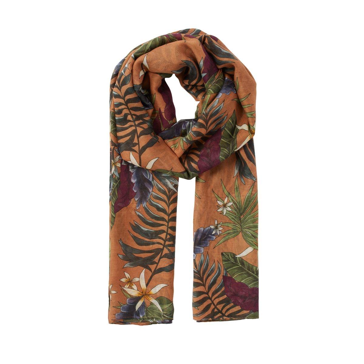 Foulard à imprimé jungle